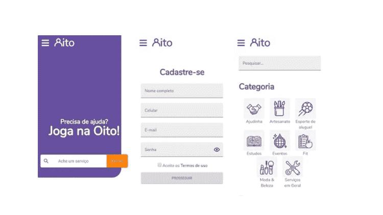 App Oito - Divulgação - Divulgação