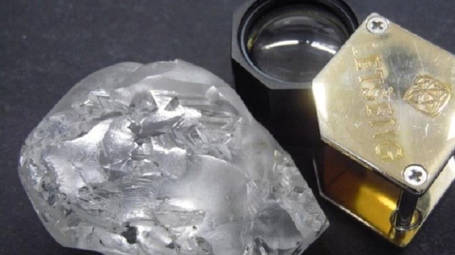Diamante que custa R$ 100 milhões é encontrado por mineradora - Reprodução/Gem Diamonds