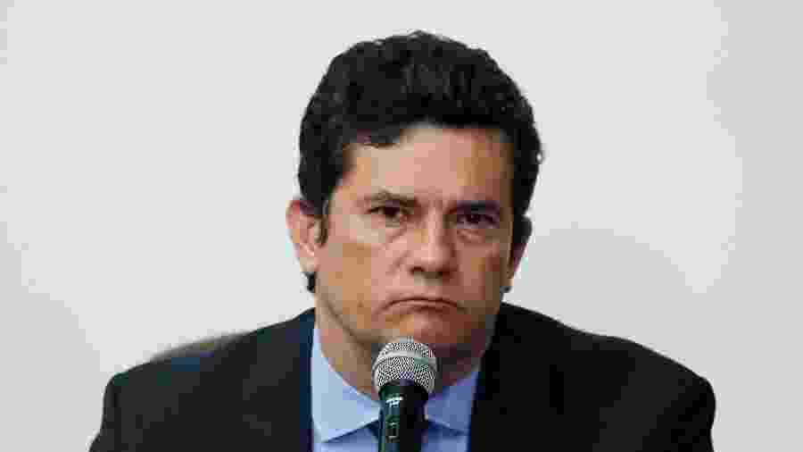 Ex-juiz Sergio Moro acusou Bolsonaro de tentar interferir na Polícia Federal quando deixou o governo - Ueslei Marcelino