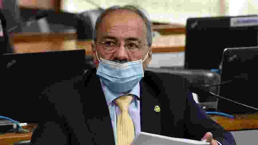 Chico Rodrigues (DEM-RR) já havia deixado também a vice-liderança do governo no Senado após a investigação - Marcos Oliveira/Brazilian Senate Press Office/AFP