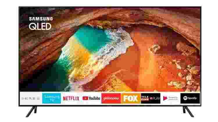 """Samsung Smart Tv Qled 65"""" 4k - Divulgação - Divulgação"""