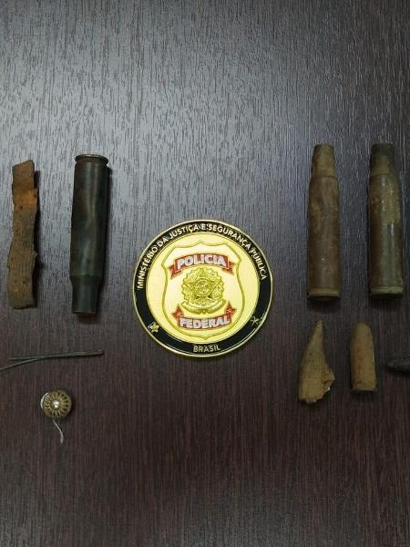 Recuperação de objetos ocorreu durante instrução de inquérito para apurar furto de artefatos em sítios arqueológicos em Sergipe - Polícia Federal/Divulgação