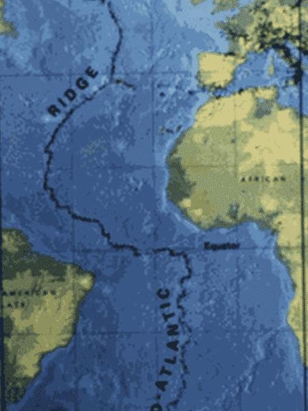 eurásia - USGS via BBC - USGS via BBC