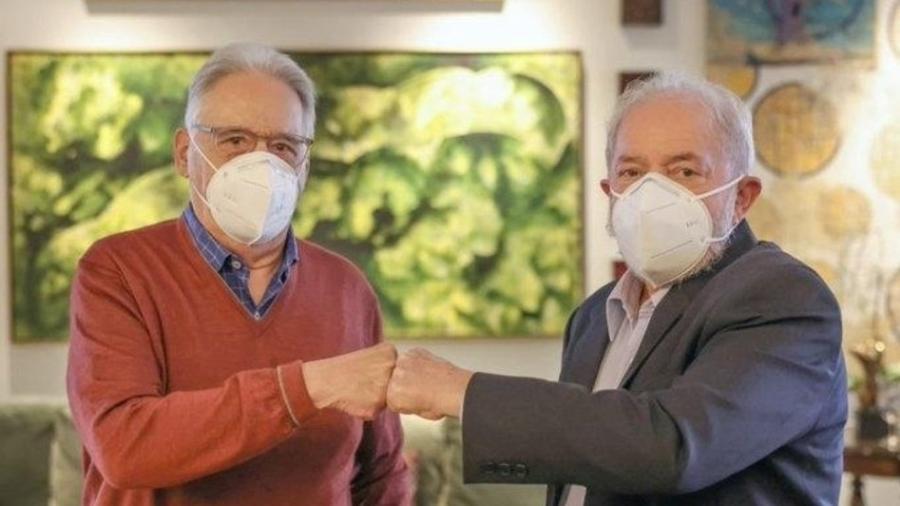 Os ex-presidentes Fernando Henrique Cardoso e Luís Inácio Lula da Silva se encontraram para um almoço em maio - Ricardo Stuckert