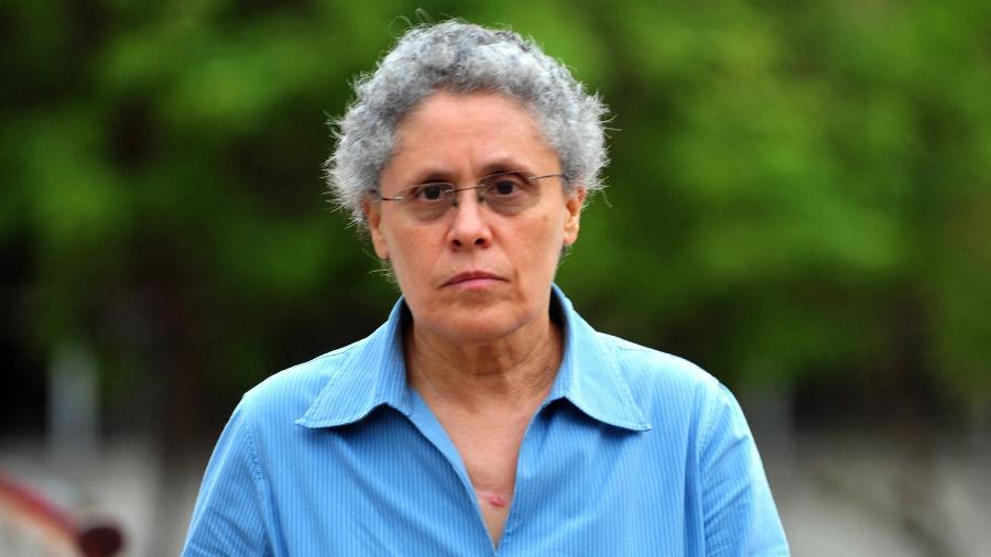 18.jul.2012 (Foto de arquivo) - Dora Maria Tellez, ex-comandante da guerrilha e forte opositora ao governo de Daniel Ortega foi presa ontem - Hector RETAMAL/AFP