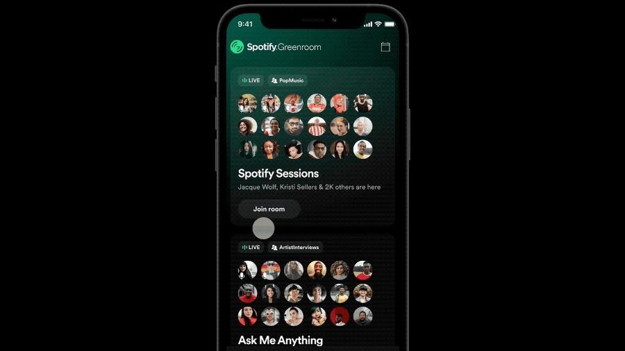 Greenroom é novo app de conversas de áudios  - Divulgação