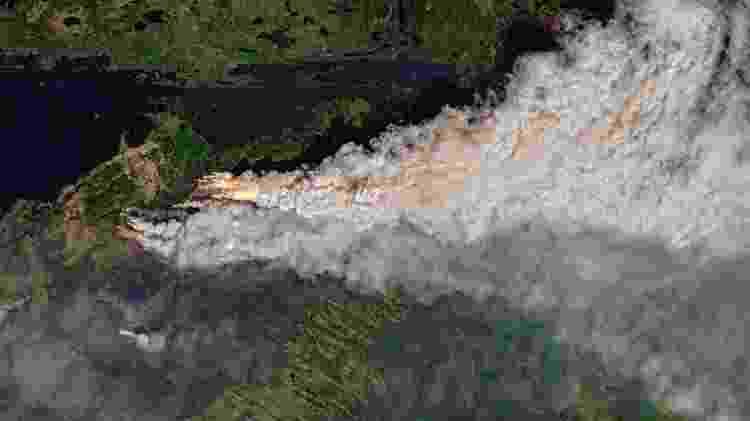 Onda extrema de calor no Canadá veio acompanhada de incêndios - Copernicus/Sentinel-2/Sentinel Hub/Pierre Markuse - Copernicus/Sentinel-2/Sentinel Hub/Pierre Markuse
