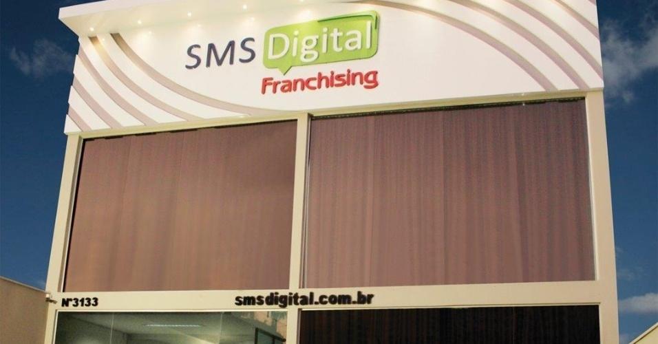 Franquia SMS Digital (comunicação via SMS ? home based)