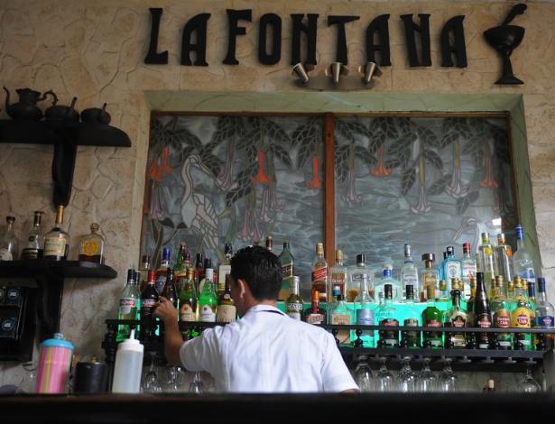 La Fontana é o restaurante 'da moda' no oeste da capital Havana