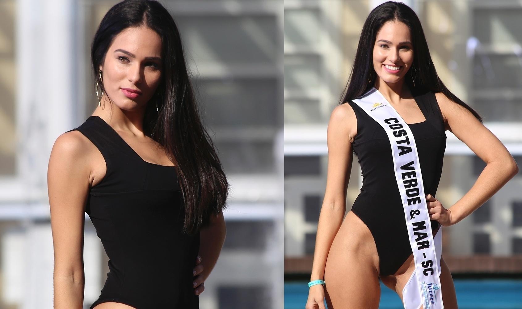 23.jun.2016 - COSTA VERDE & MAR (SC) - Sara Ramos, 25, formada em gestão comercial e modelo