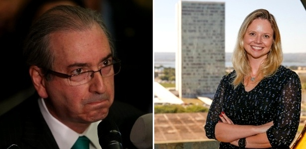 29.jul.2016 - Eduardo Cunha e Danielle Dytz da Cunha
