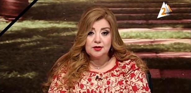 Apresentadora Khadija Khatab - Reprodução
