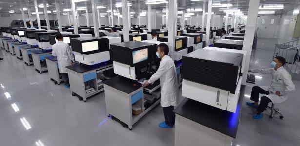 O Banco Nacional de Genes (CNGB) quer reunir 300 milhões de amostras