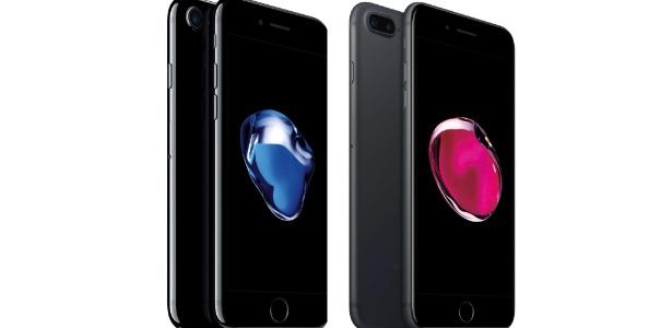 c72a38b66 iPhone 7 no Brasil é R  1.400 mais caro que nos EUA  veja tabela de preços.  Divulgação Apple