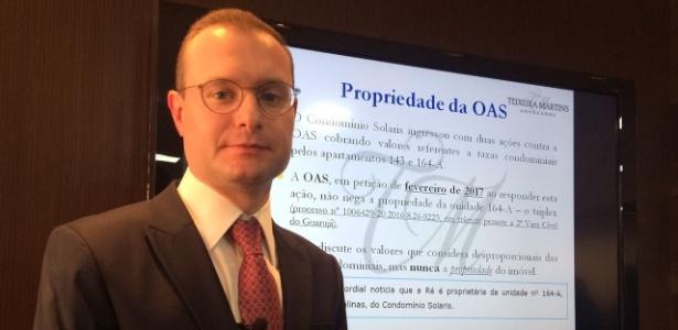 Cristiano Zanin, advogado de Lula, pediu que OAB acompanhasse depoimento do ex-presidente - Janaina Garcia/UOL