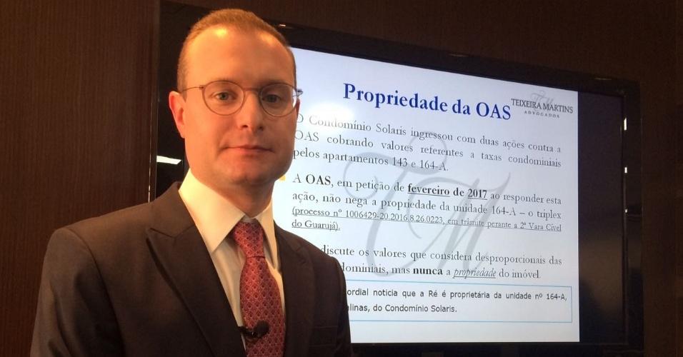 Cristiano Zanin, advogado de Lula, pediu que OAB acompanhasse depoimento do ex-presidente