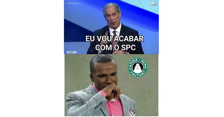 Meme Ciro Gomes debate RedeTV!