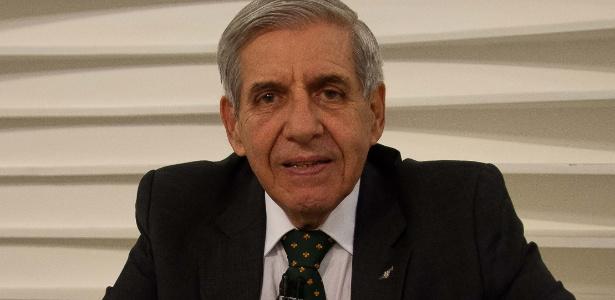 O general da reserva Augusto Heleno Ribeiro - RONALDO SILVA/FUTURA PRESS/FUTURA PRESS/ESTADÃO CONTEÚDO