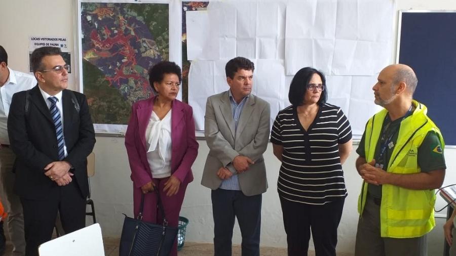Ministra da Mulher, Damares Alves, visita Prefeitura de Brumadinho - Divulgação/Prefeitura Municipal de Brumadinho