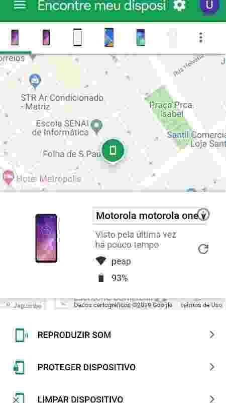 Achar celular Android perdido pode ser feito dando um Google - Reprodução/Google