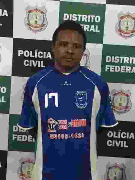 17.jun.2019 - Gilmar Oliveira dos Santos, 36, falso pastor que foi preso no DF - Divulgação/Polícia Civil