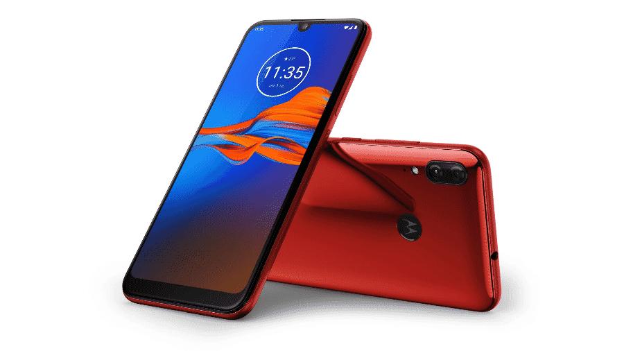 O celular Moto e6 Plus - Divulgação/Motorola