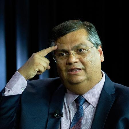 O governador do Maranhão , Flávio Dino (PCdoB), durante entrevista exclusiva ao UOL e a Folha em janeiro - Kleyton Amorim/UOL