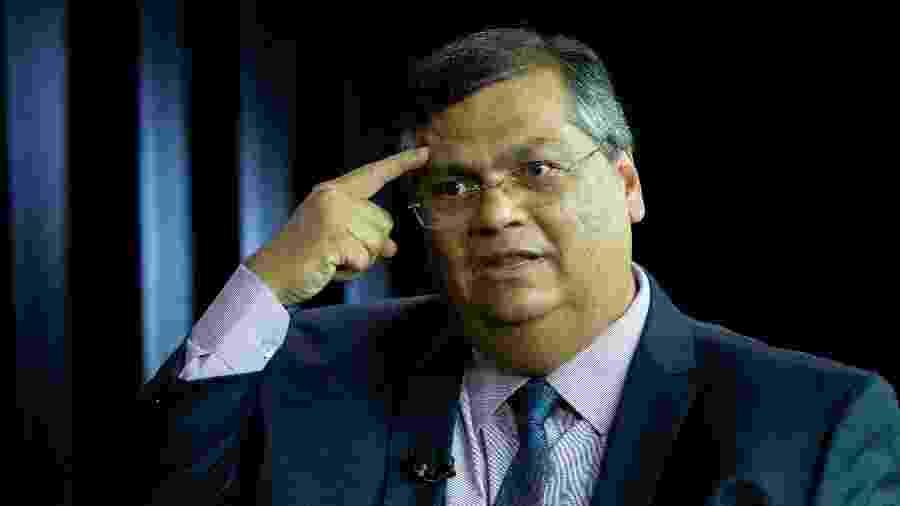 23.jan.2010 - O governador do Maranhão, Flávio Dino (PCdoB), durante entrevista ao UOL e à Folha de S.Paulo - Kleyton Amorim/UOL