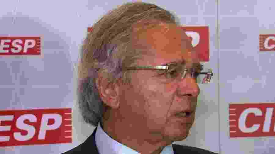 Paulo Guedes, ministro da Economia - Reprodução/GloboNews
