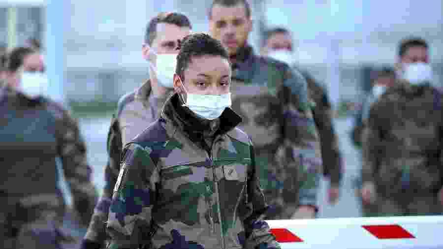 França mobiliza exército contra o coronavírus - Johannes Simon/Getty Images