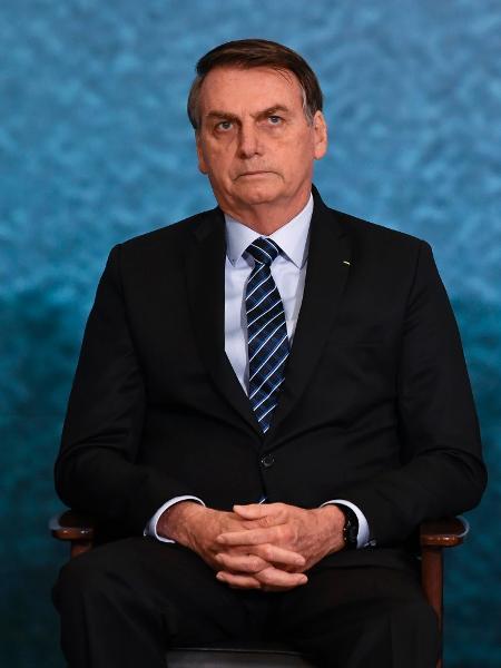 """O presidente Bolsonaro ao lado do ex-ministro Sergio Moro -- agora, o """"Judas"""" - Mateus Bonomi/AGIF"""