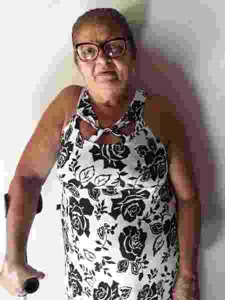 Moradora de Quixadá (CE), a sertaneja Maria do Socorro Brito Moreira, 66, abandonou a escola por problemas de saúde e hoje é analfabeta - Arquivo pessoal - Arquivo pessoal