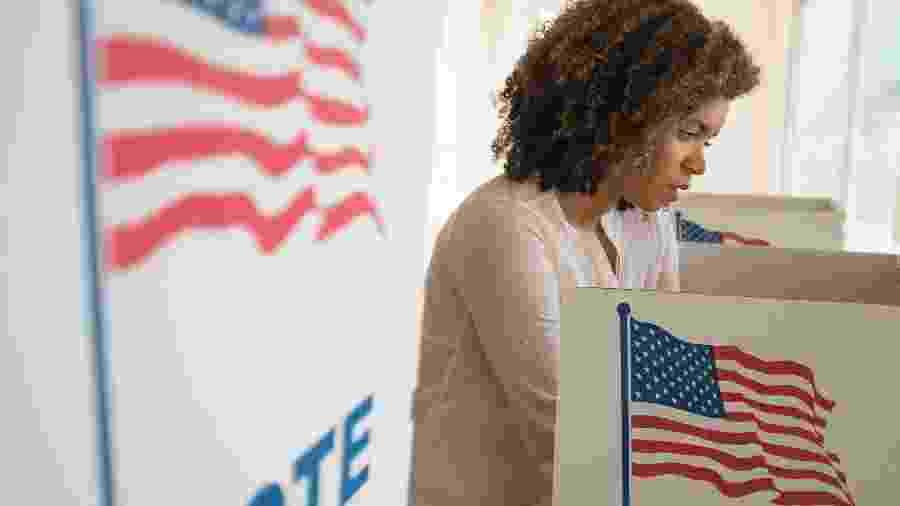 Lideranças democratas criticam tratamento da imprensa dado a mulheres na corrida eleitoral nos EUA - Getty Images/Tetra images RF
