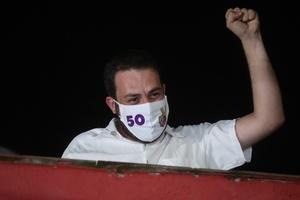 Boulos não prometeu deixar o país depois da derrota nas eleições (Foto: ALEX SILVA/ESTADÃO CONTEÚDO)