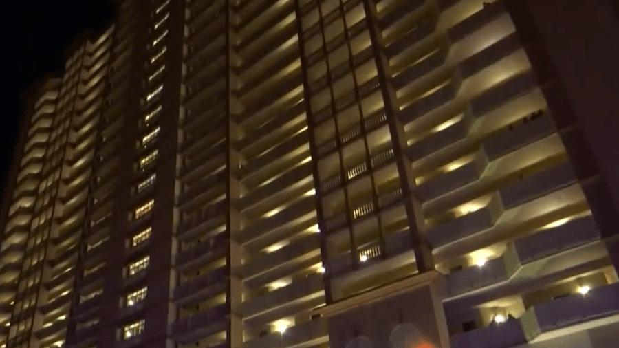 Homem saltou de varanda de hotel - Reprodução/WMBB