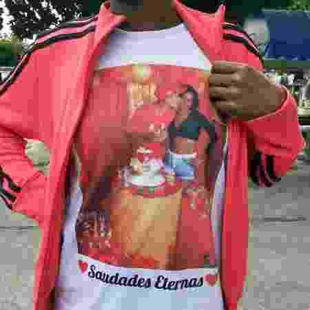 Mãe de Jhonatan Araújo da Silva homenageia o filho - Rai Aquino/Colaboração para o UOL - Rai Aquino/Colaboração para o UOL