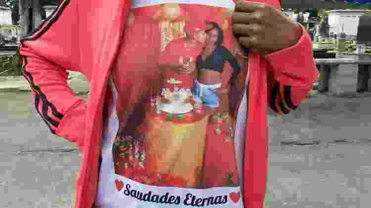 Jacarezinho: Mãe de Jhonatan Araújo da Silva homenageou o filho - Rai Aquino/Colaboração para o UOL - Rai Aquino/Colaboração para o UOL