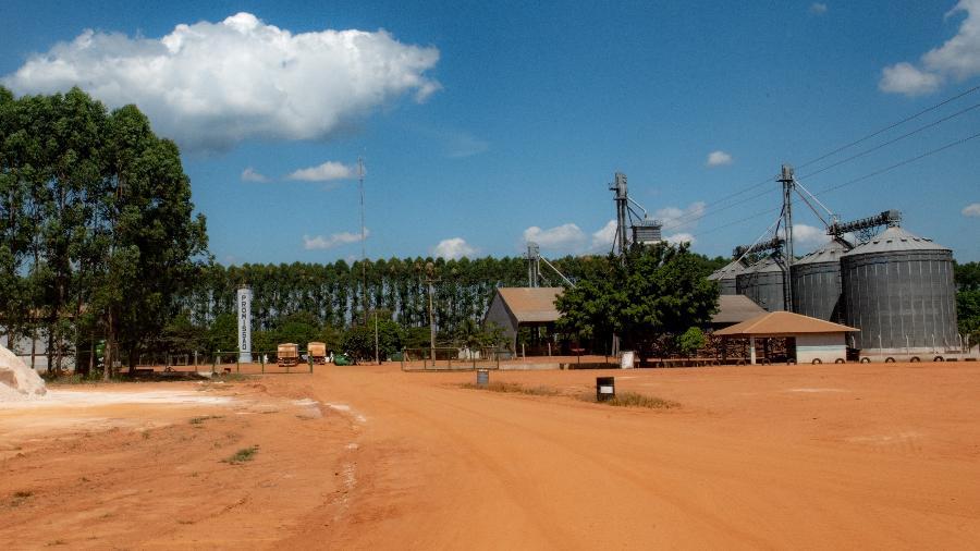 Sede da Fazenda Promissão, em União do Sul (MT) - José Medeiros/UOL