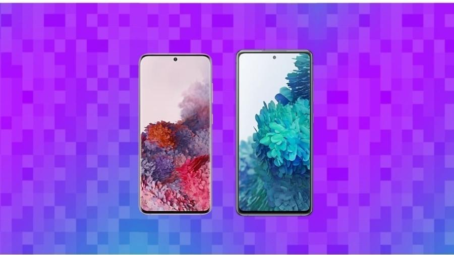 Galaxy S20 x Galaxy S20 FE - UOL
