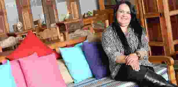 Eliane Nóbrega, 37, trabalhou como diarista antes de fundar a Nobre Demolidora - Divulgação - Divulgação