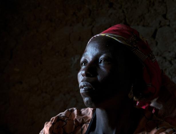 Rahila Amos foi raptada pelo Boko Haram e teve aulas de como ser uma mulher-bomba