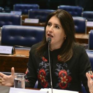 A senadora Simone Tebet (PMDB-MS) - Ana Volpe/Agência Senado - 19.abr.2016