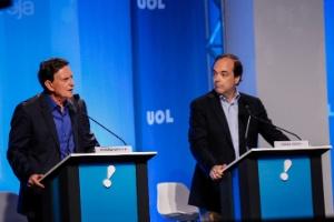Debate no Rio  candidatos falam de violência doméstica e atacam ... c6aff96e856e9
