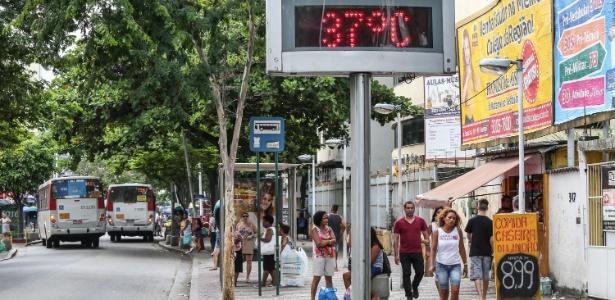 Bangu, na zona oeste carioca, é conhecido como o bairro mais quente do Rio de Janeiro