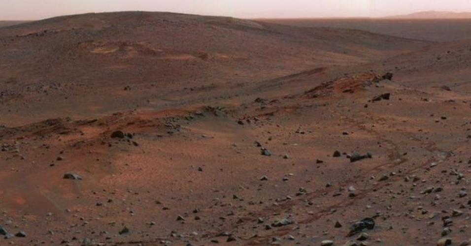 8.mar.2017 - Marte é um planeta de condições extremas - as temperaturas vão de -80°C a 20°C
