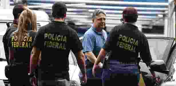 22.nov.2017 - O ex-governador Anthony Garotinho (PR) foi preso pela Polícia Federal nesta quarta-feira - Fábio Motta/Estadão Conteúdo