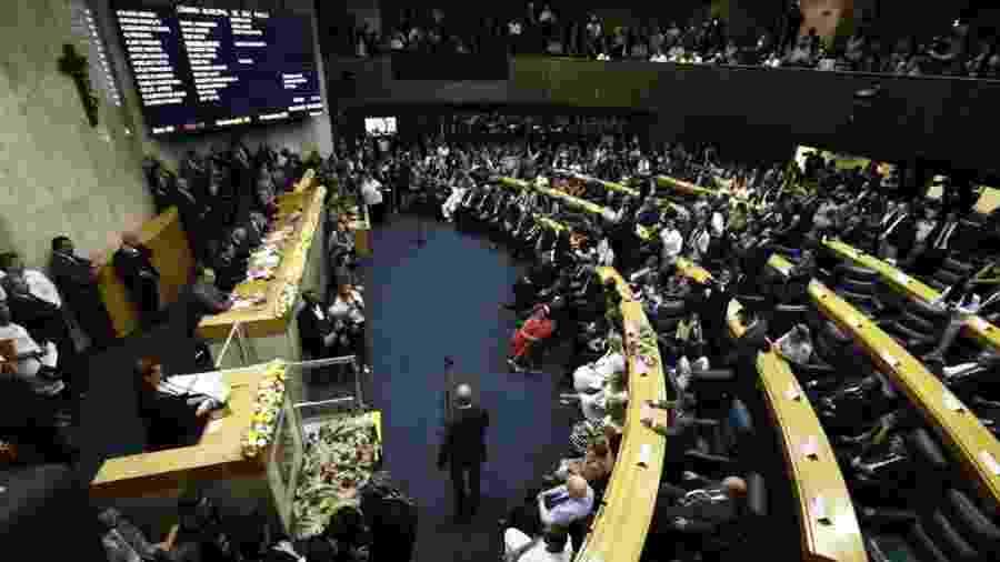 Sessão no Plenário da Câmara dos Vereadores de São Paulo - Adriano Vizoni/Folhapress