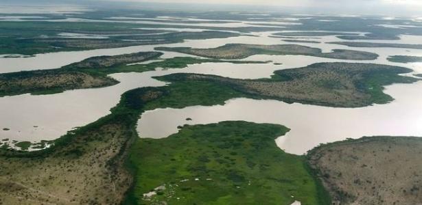Antes de começar a secar, o lago Chade era como uma espécie de mar interno na África