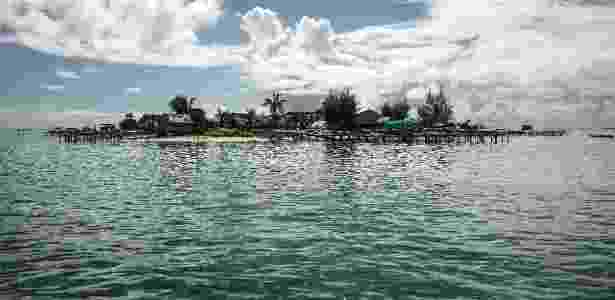 Vista geral da ilha Beniamina, nas Ilhas Salomão - Adam Ferguson/The New York Times