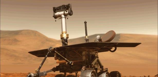 O rover Opportunity, da Nasa - AFP